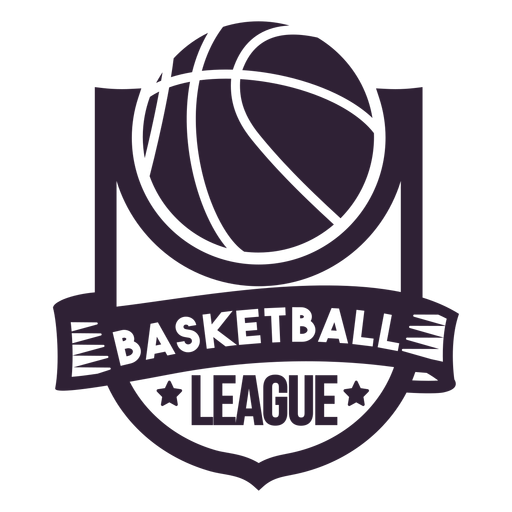 Basketball ligue star ball badge Transparent PNG