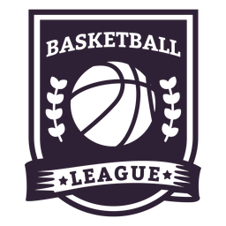 Basketball ligue star ball branch badge