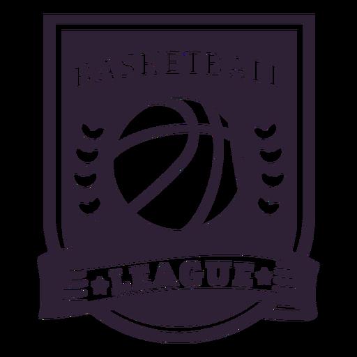 Basketball ligue star ball branch badge Transparent PNG