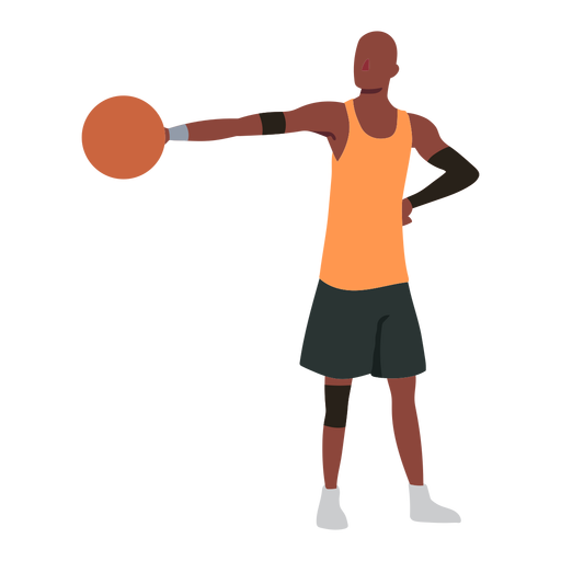Basketball player ball player shorts accessory flat Transparent PNG