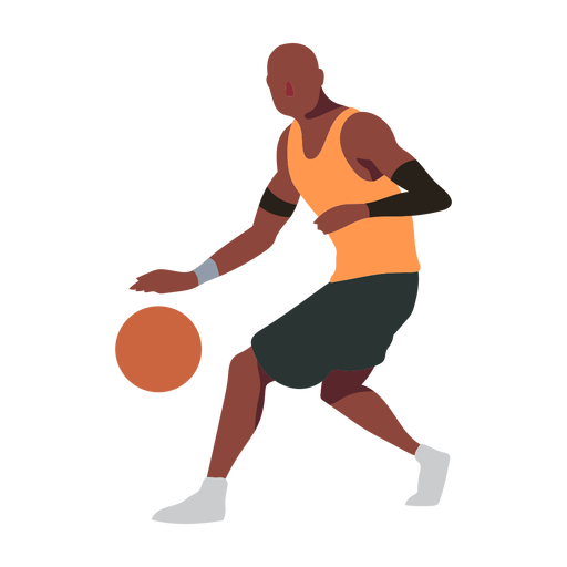 Baloncesto jugador pelota jugador pantalones cortos accesorio camiseta calva plana Transparent PNG