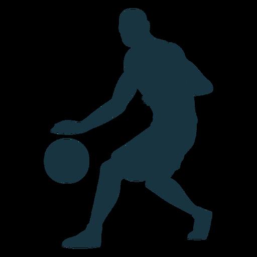 Jugador de baloncesto jugador de pelota pantalones cortos silueta calva Transparent PNG