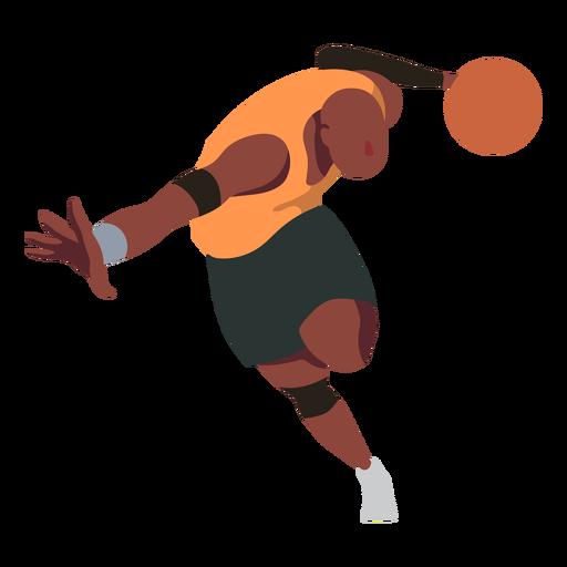 Baloncesto jugador pelota jugador pantalones cortos planos Transparent PNG