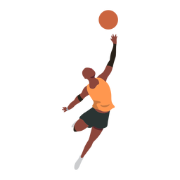 Basketball player ball player shorts throw accessory t shirt flat