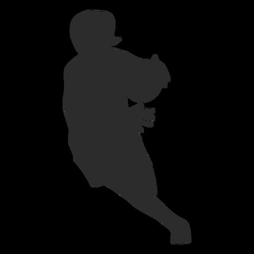 Jogador de basquete feminino jogador bola correndo cabelo rabo de cavalo silhueta Transparent PNG