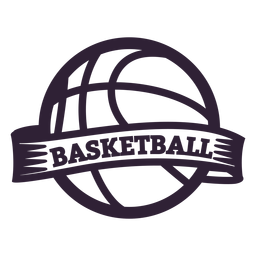 Insignia de la pelota de baloncesto