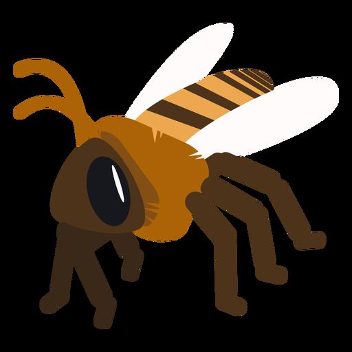 Vespa de asa de abelha vespa arredondada plana Transparent PNG