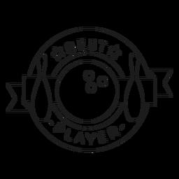Best player ball badge line
