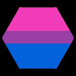 Bisexueller Sechskantstreifen flach