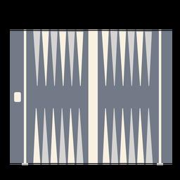 Silueta patrón de tablero