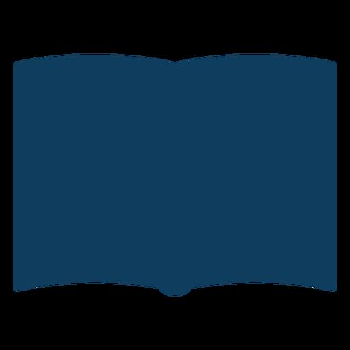 Livro de página dupla página silhueta Transparent PNG