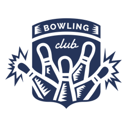 Bowling Club Kegel Abzeichen Aufkleber