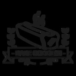 Bread badge stroke