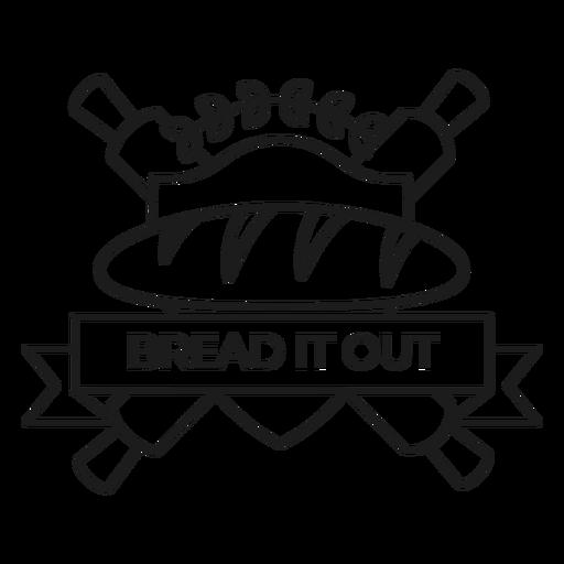 Trazo de placa de hornear pan Transparent PNG