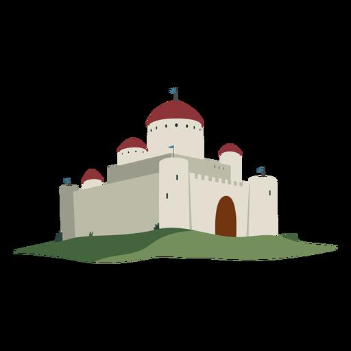 Castle fortress dome flag illustration Transparent PNG