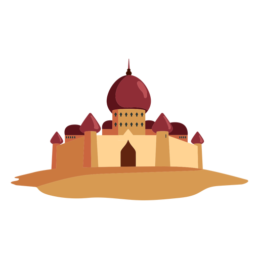 Castle fortress dome illustration Transparent PNG