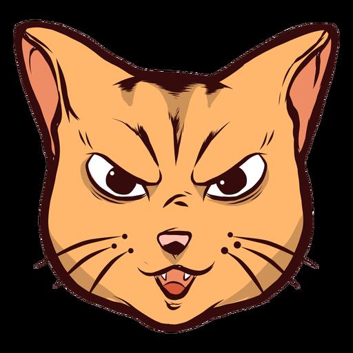 Ilustración de oreja de bigote de arte de bozal de gato Transparent PNG
