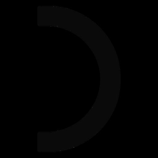 Ch leash arc arch silhouette Transparent PNG