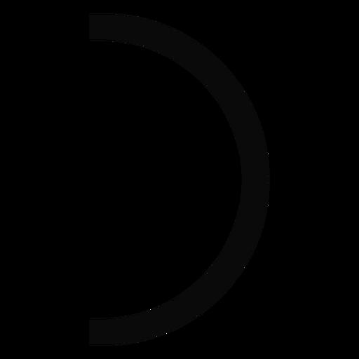 Ch leash arch arc silhouette Transparent PNG