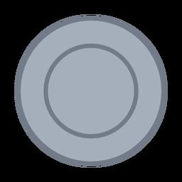 Kreis Entwurf flach