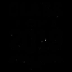 Classe de etiqueta da filial de 2019 estrelas