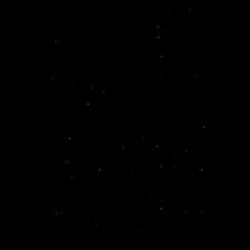 Class of 2019 star branch sticker