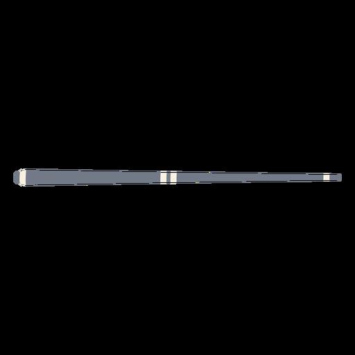 Cue stick silhouette Transparent PNG