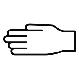 D mano dedo brazo golpe