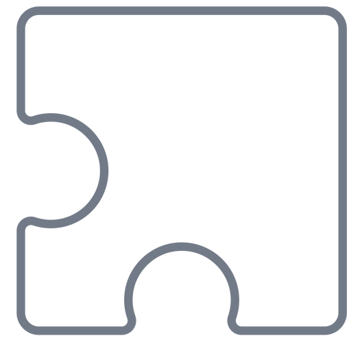 Pieza detalle rompecabezas trazo Transparent PNG