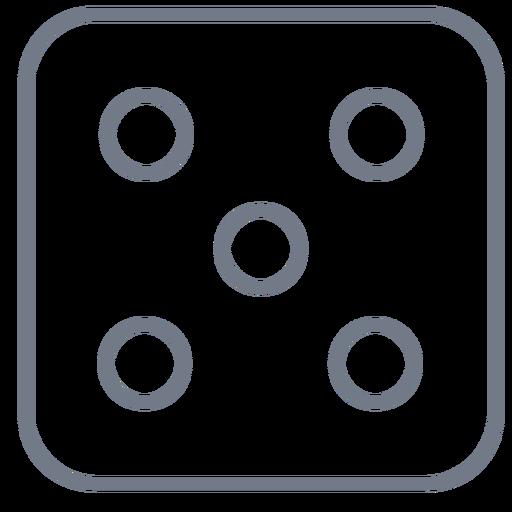 Corte de borda de cinco pontos Transparent PNG