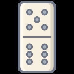 Domino dados cinco seis planos