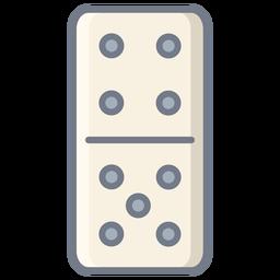 Domino dados cuatro cinco planos