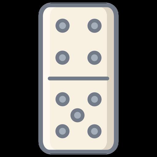 Domino dice four five flat