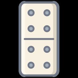 Domino dados cuatro planos