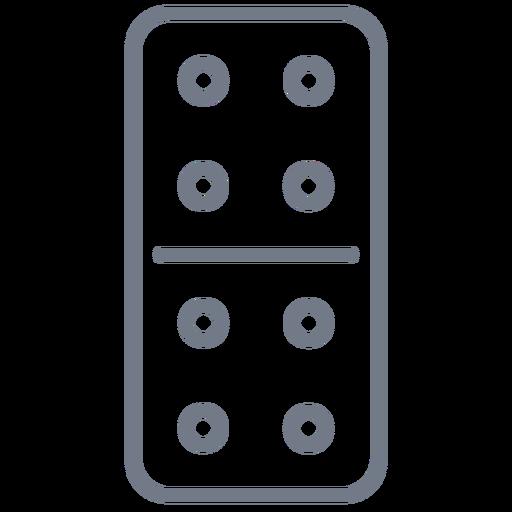 Domino dice quatro tempos Transparent PNG