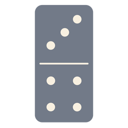 Domino dice three four silhouette