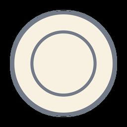 Esboço de círculo plano