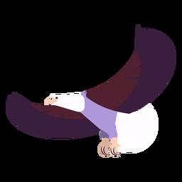 Ala de águila volando volando garra pico redondeado plano