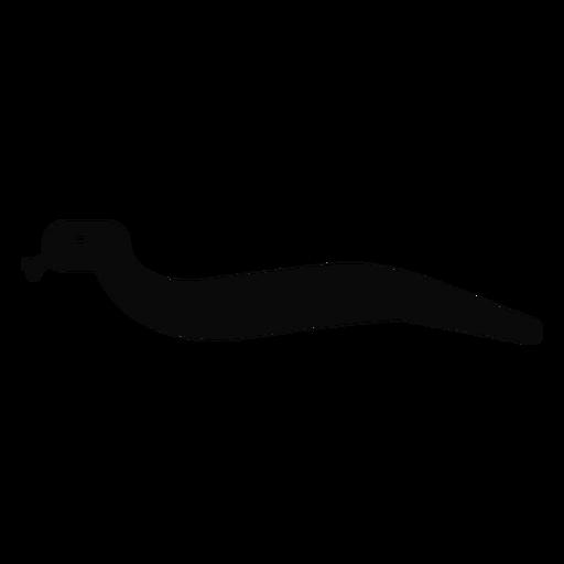 F v cobra bifurcada língua detalhada silhueta Transparent PNG