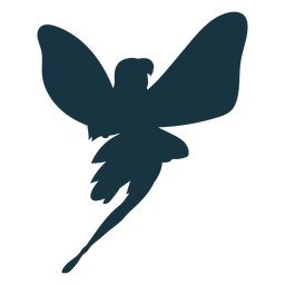 Fairy wing silhouette