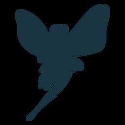 Fee Flügel Silhouette