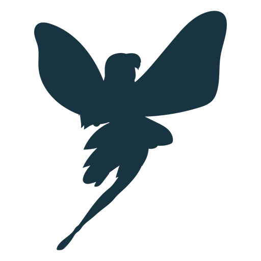 Fairy wing silhouette Transparent PNG
