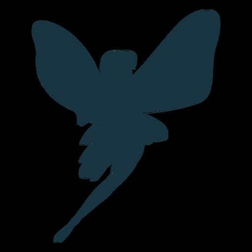 Silhueta de asa de fada Transparent PNG