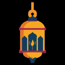 Icono de lámpara de fuego lámpara plana