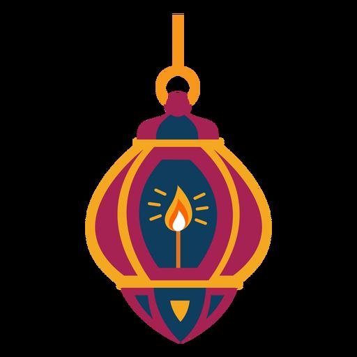 Lâmpada de anel de fogo ícone lâmpada plana Transparent PNG