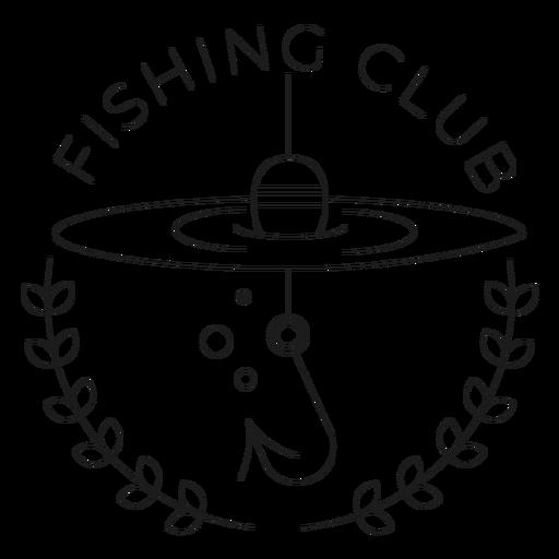 Club de pesca gancho rama mar línea flotador insignia línea Transparent PNG
