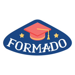 Formado star academic cap sticker