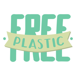 Free plastic spot badge sticker