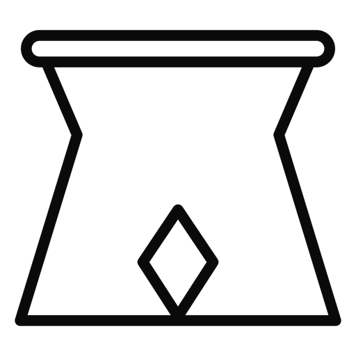 Curso de jarro em pé G Transparent PNG