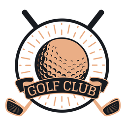 Golf club club ball logo